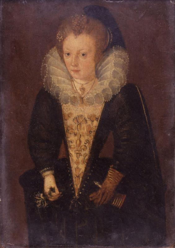 Unknown woman, formerly known as Lady Arabella Stuart from NPG