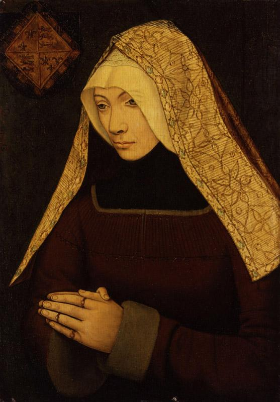 Unknown woman, formerly known as Lady Margaret Beaufort from NPG