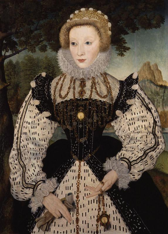 Unknown woman, formerly known as Mary, Queen of Scots from NPG