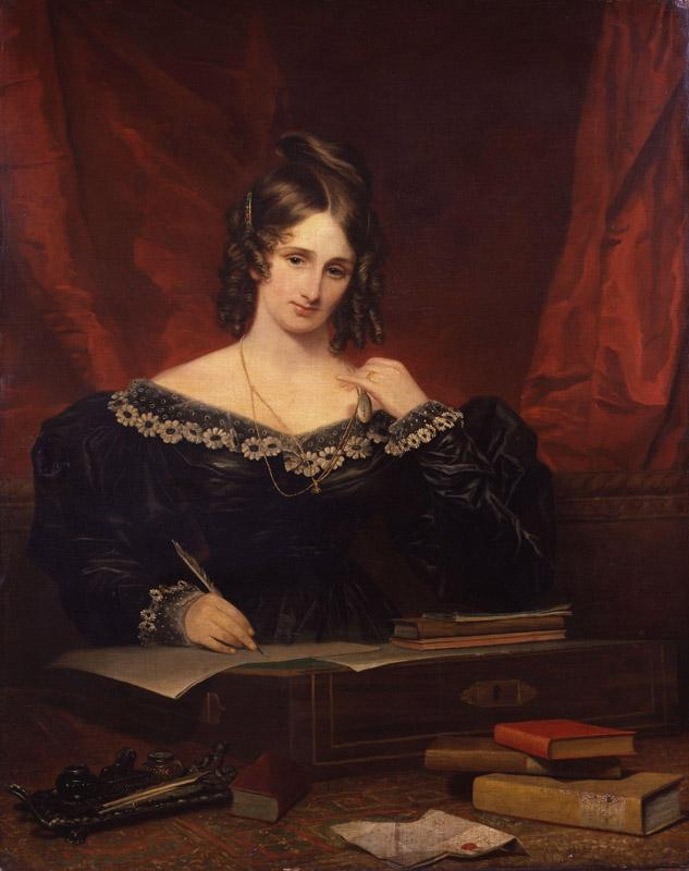 Unknown woman, formerly known as Mary Wollstonecraft Shelley by Samuel John Stump