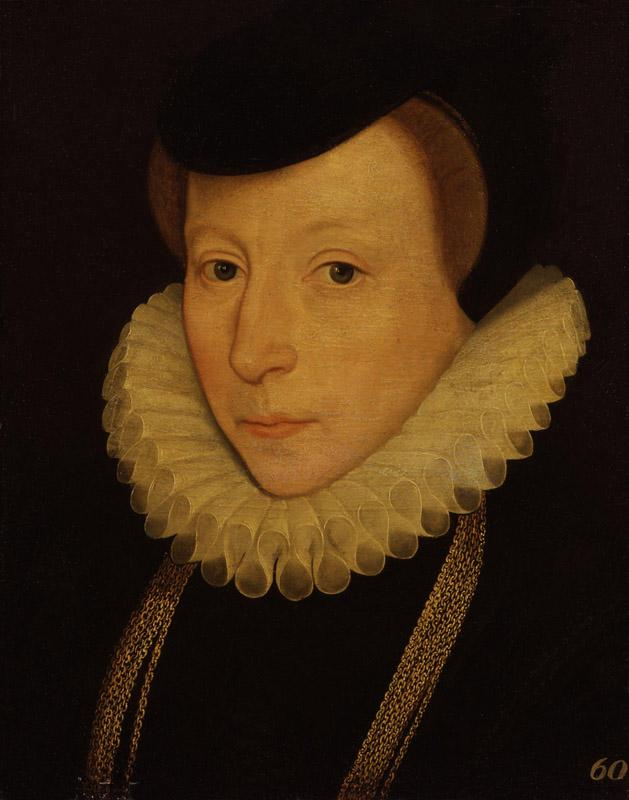Unknown woman, formerly known as Ursula, Lady Walsingham from NPG