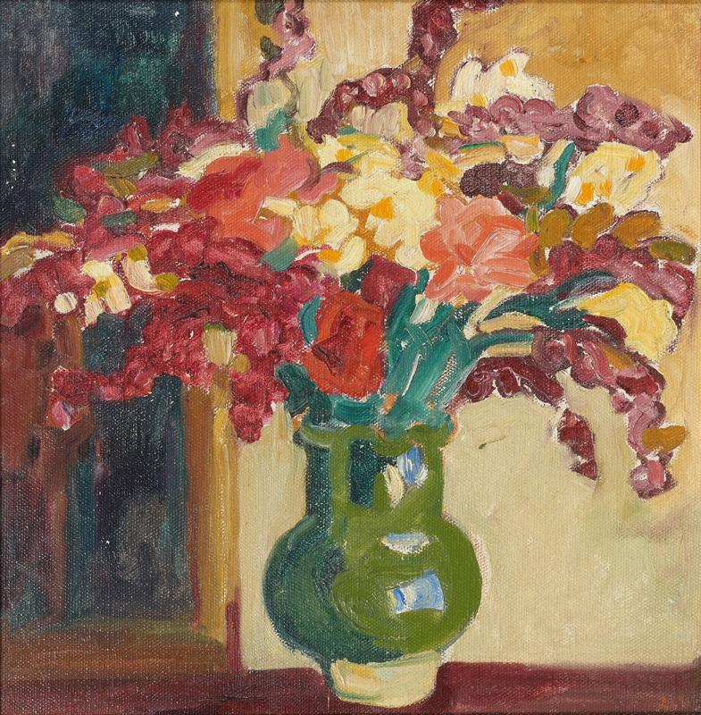 Vase with Flowers, 1908