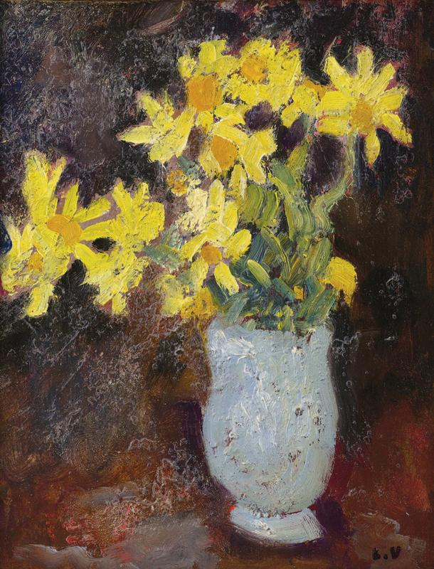 Vase with Yellow Daisies, 1917