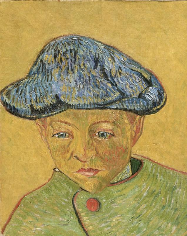 Vincent Willem van Gogh, Dutch, 1853-1890 -- Portrait of Camille Roulin