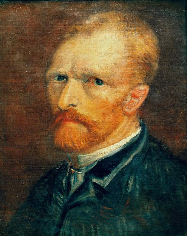 Vincent van Gogh - Self-Portrait228