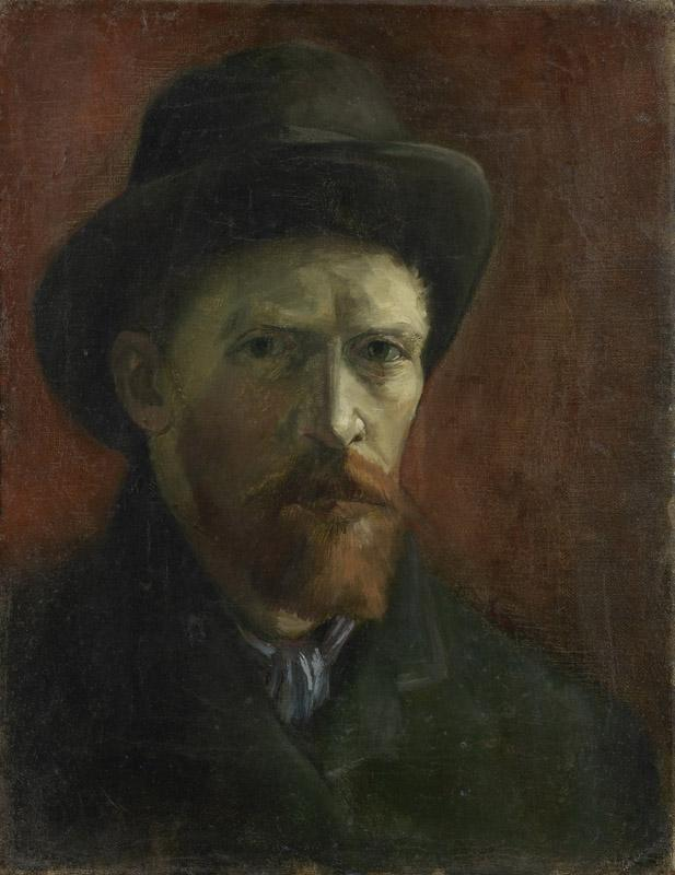Vincent van Gogh - Self-Portrait678