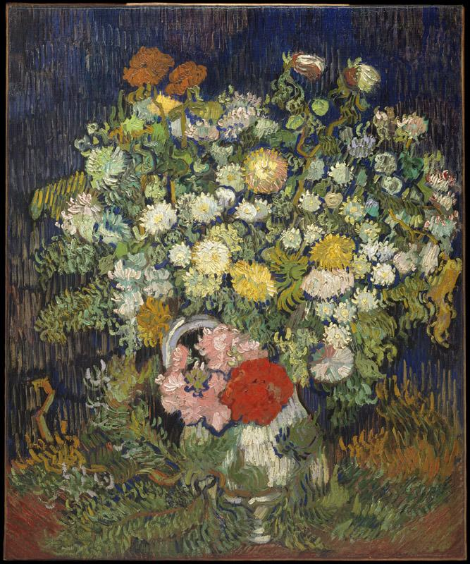 Vincent van Gogh--Bouquet of Flowers in a Vase