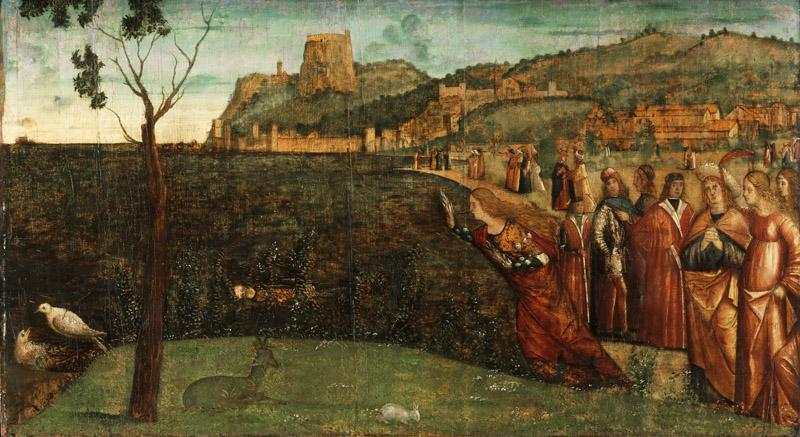 Vittore Carpaccio, Italian (active Venice), first documented 1490, died 1523-26 -- The Metamorphosis of Alcyone