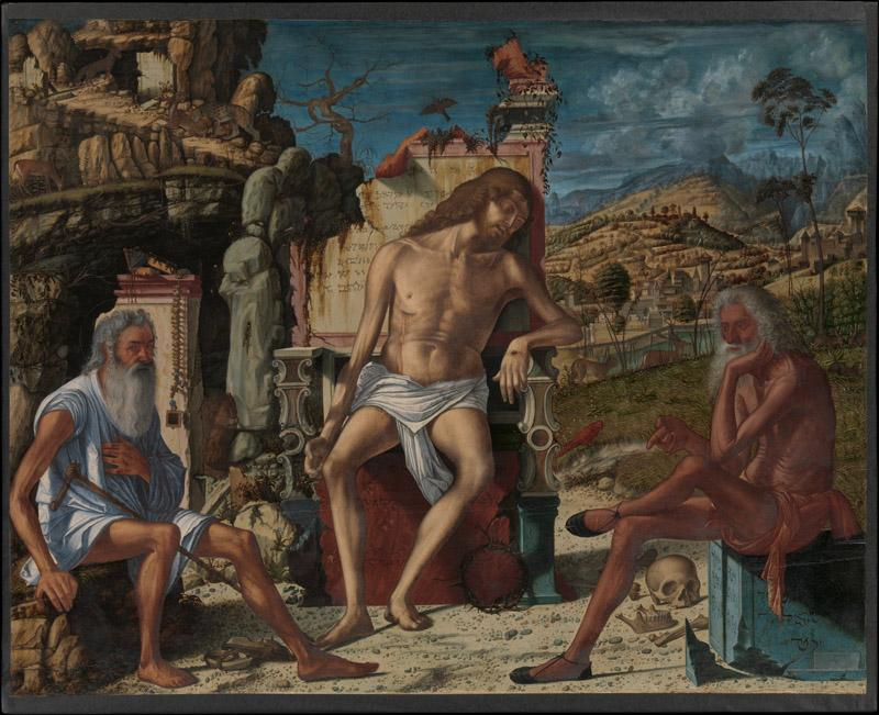 Vittore Carpaccio--The Meditation on the Passion