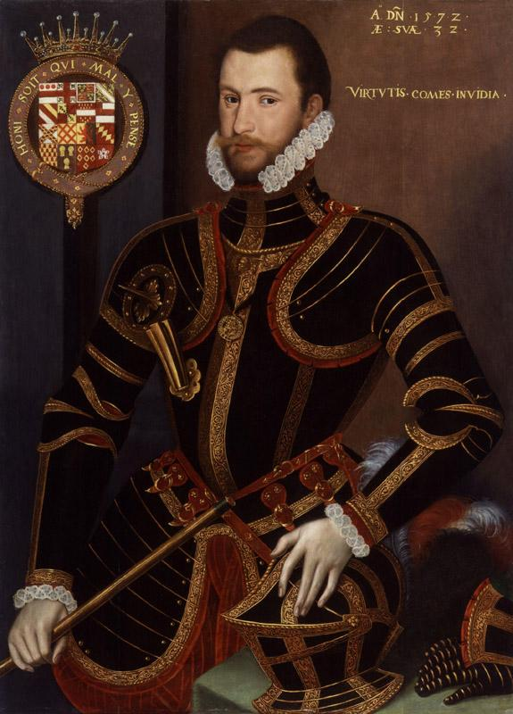 Walter Devereux, 1st Earl of Essex from NPG