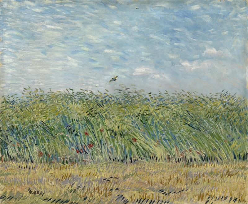 Wheat Field with a Lark