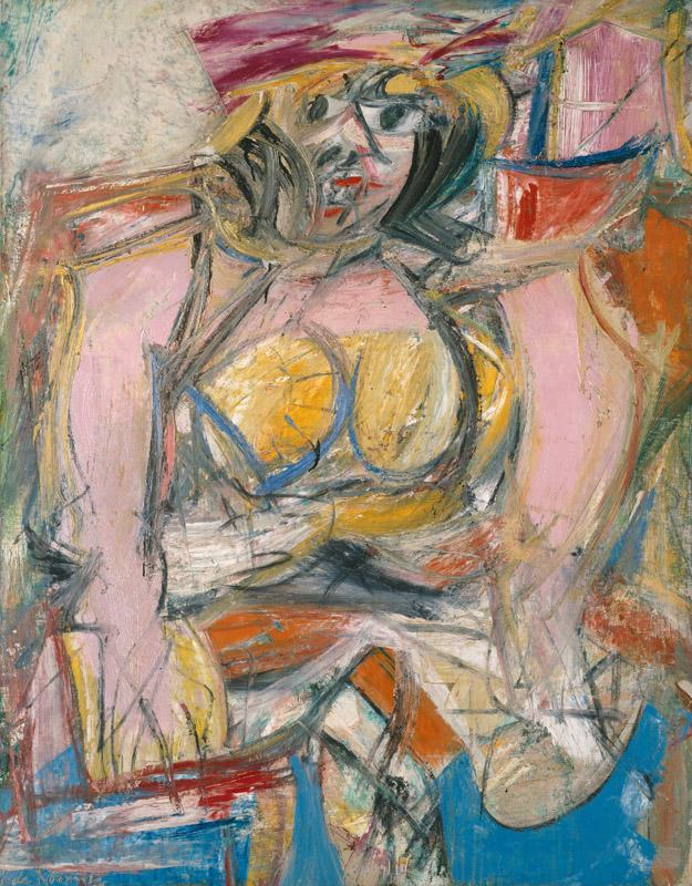 Willem de Kooning - Woman IV, 1952-1953