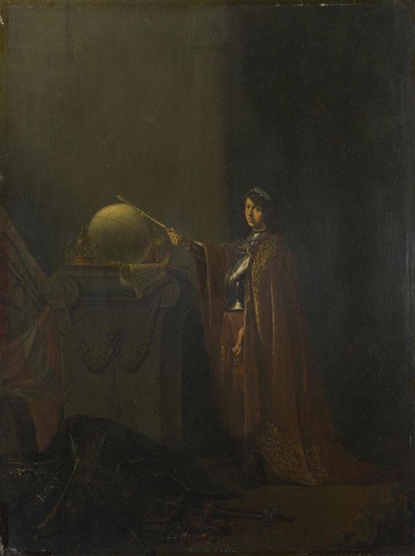 Willem de Poorter - An Allegorical Subject (The Just Ruler)