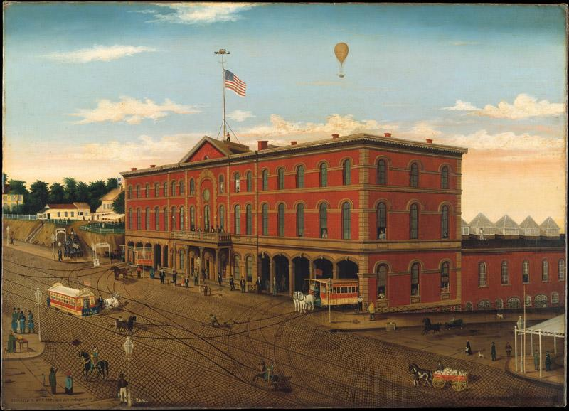 William H. Schenck--The Third Avenue Railroad Depot