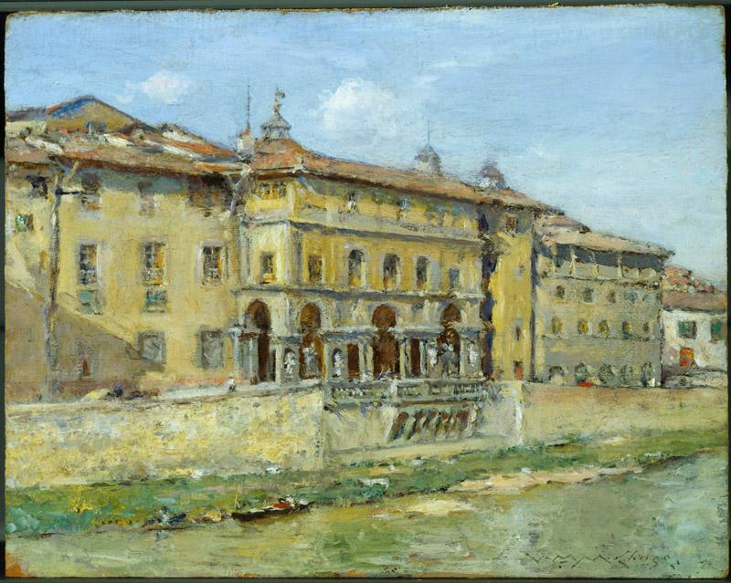William Merritt Chase (1849-1916)-Florence
