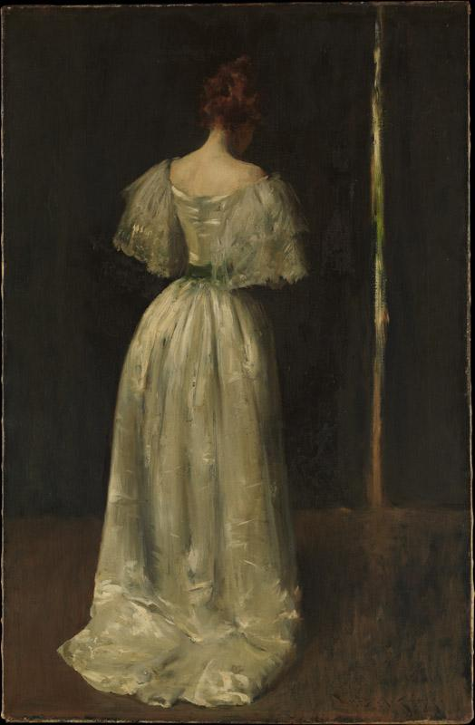 William Merritt Chase--Seventeenth Century Lady