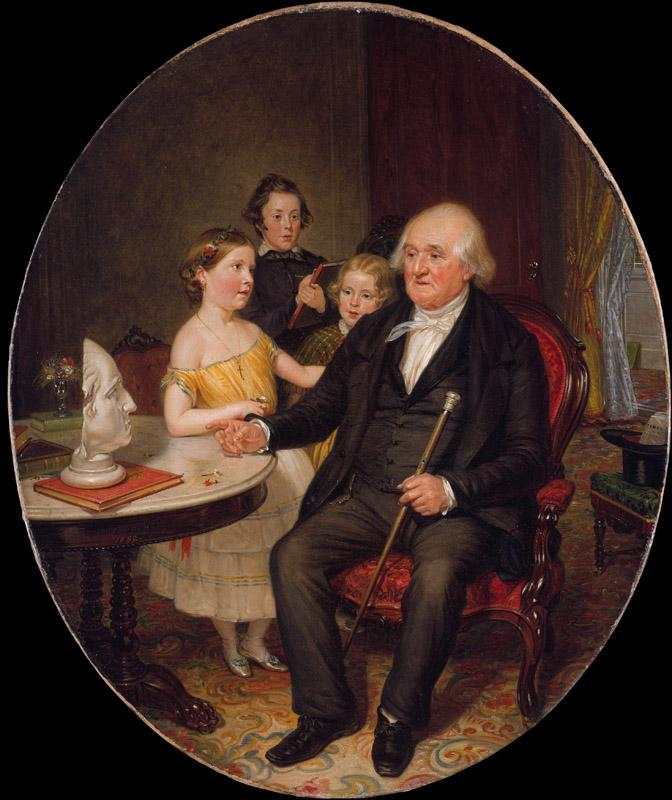 William Sidney Mount--Great-Grand-Father Tale of the Revolution