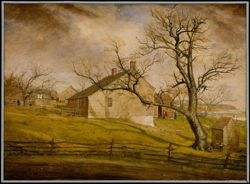 William Sidney Mount--Long Island Farmhouses