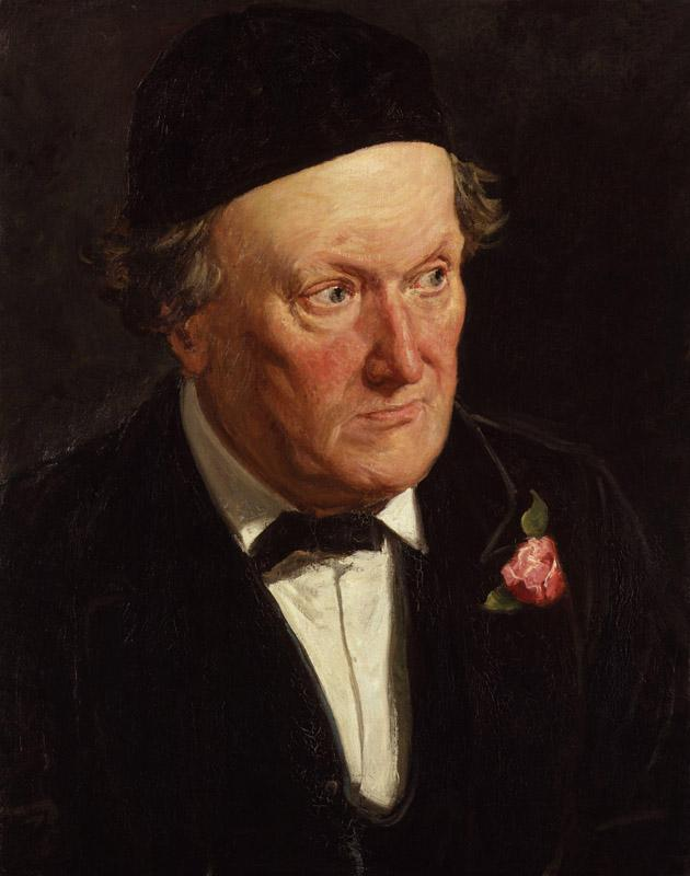 William Bell Scott by Frederick Bacon Barwell