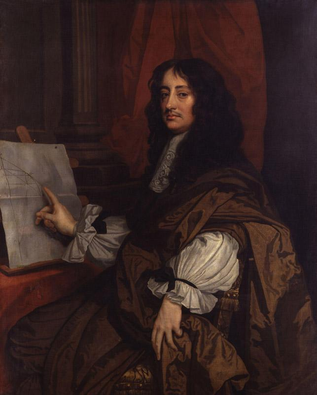 William Brouncker, 2nd Viscount Brouncker by Sir Peter Lely