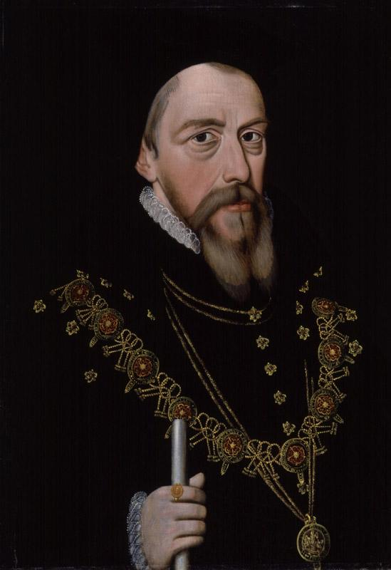 William Cecil, 1st Baron Burghley from NPG (6)