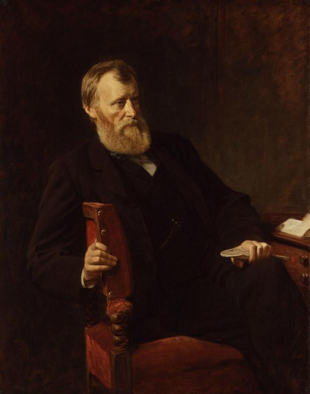 William Edward Forster by Henry Tanworth Wells