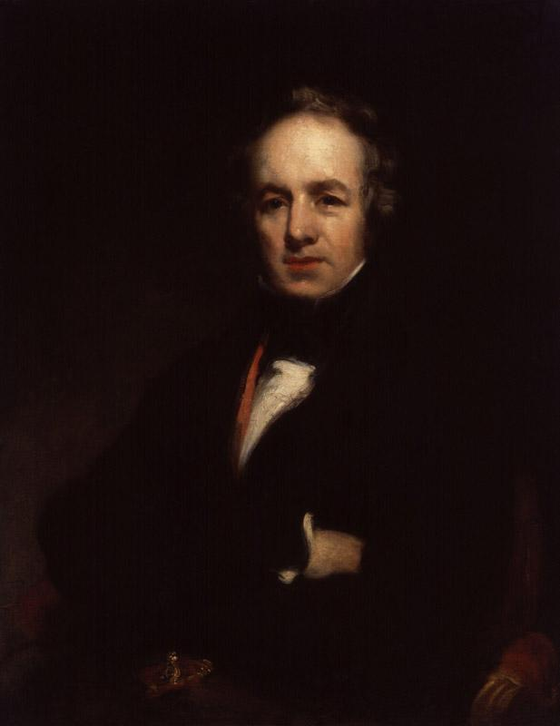 William Farren by Richard Rothwell