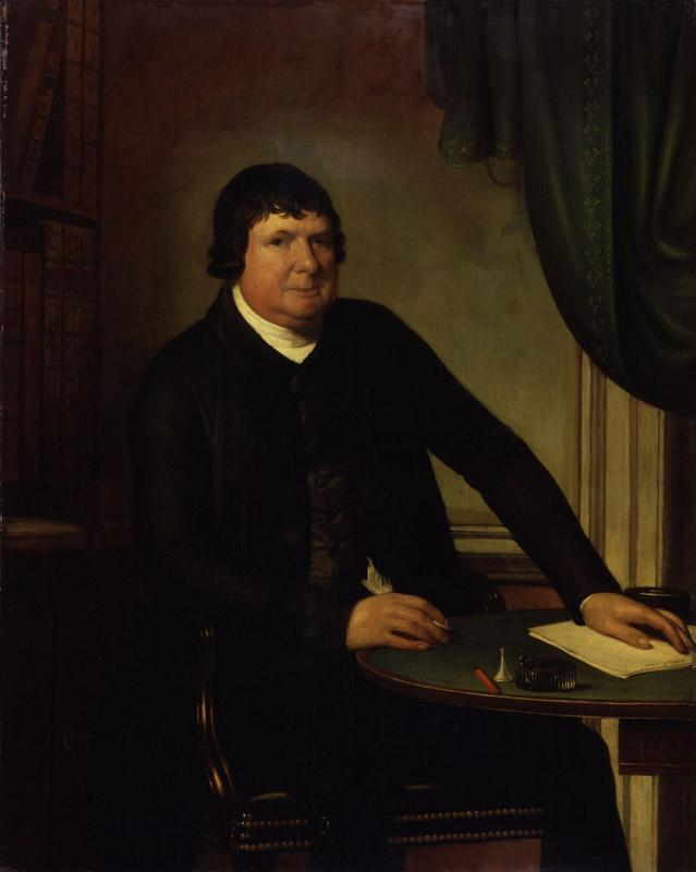 William Huntington by Domenico Pellegrini