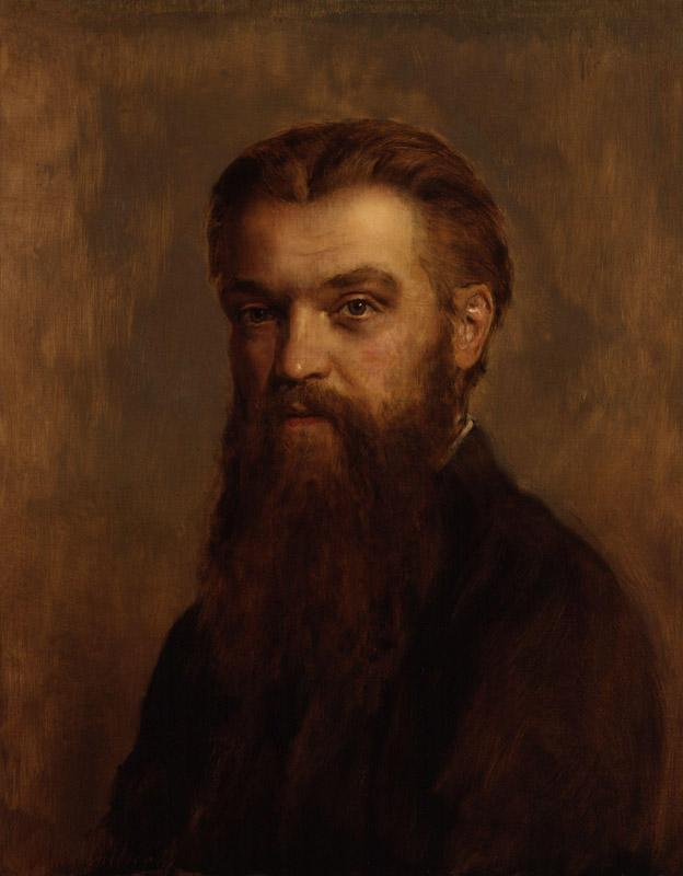 William Kingdon Clifford by John Collier