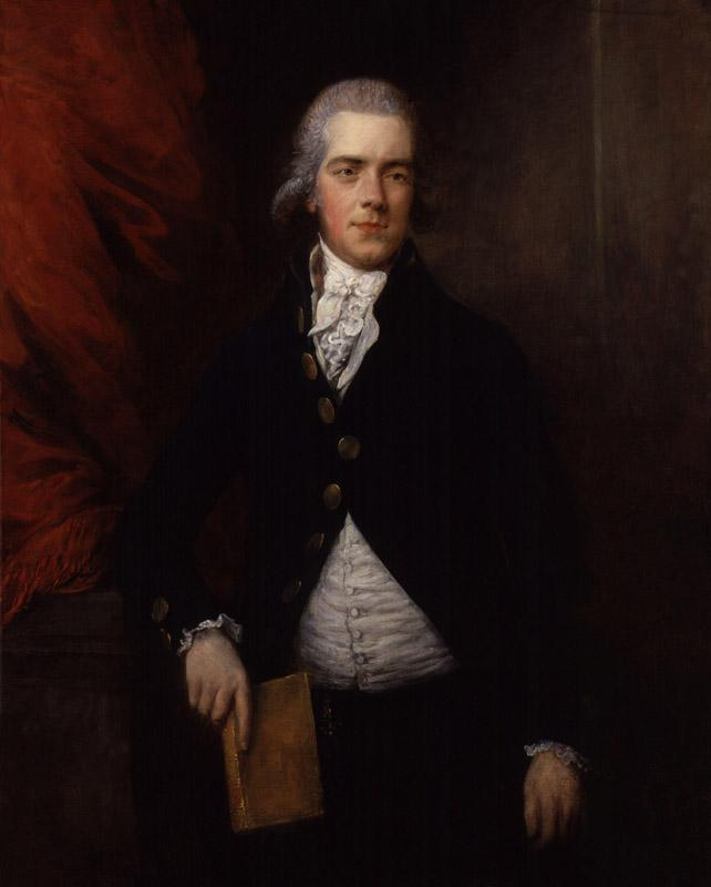 William Wyndham Grenville, 1st Baron Grenville by Gainsborough Dupont