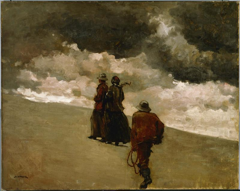 Winslow Homer (1836-1910)-To the Rescue