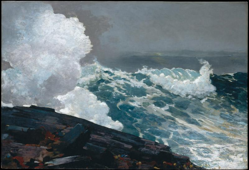 Winslow Homer--Northeaster