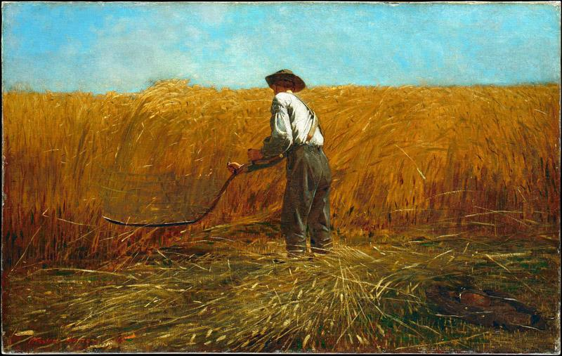 Winslow Homer--The Veteran in a New Field