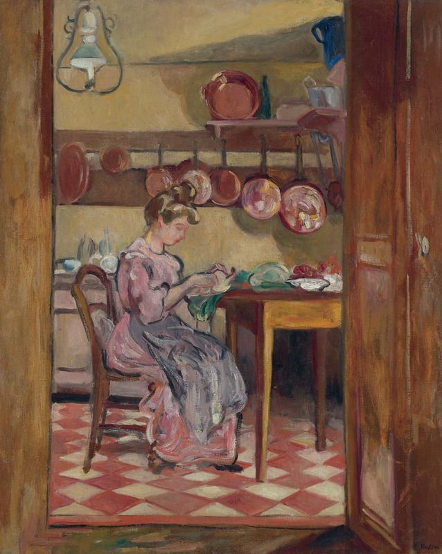 Woman in the Kitchen, 1905