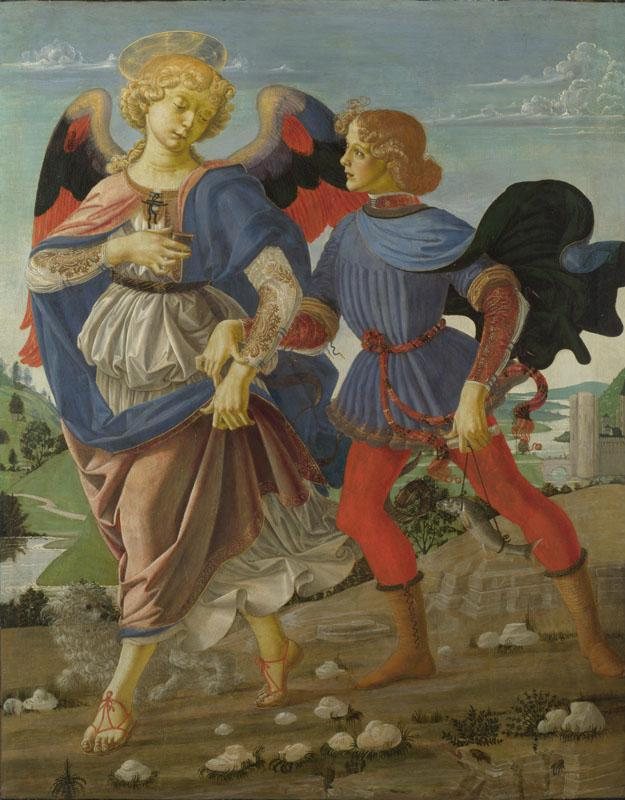 Workshop of Andrea del Verrocchio - Tobias and the Angel