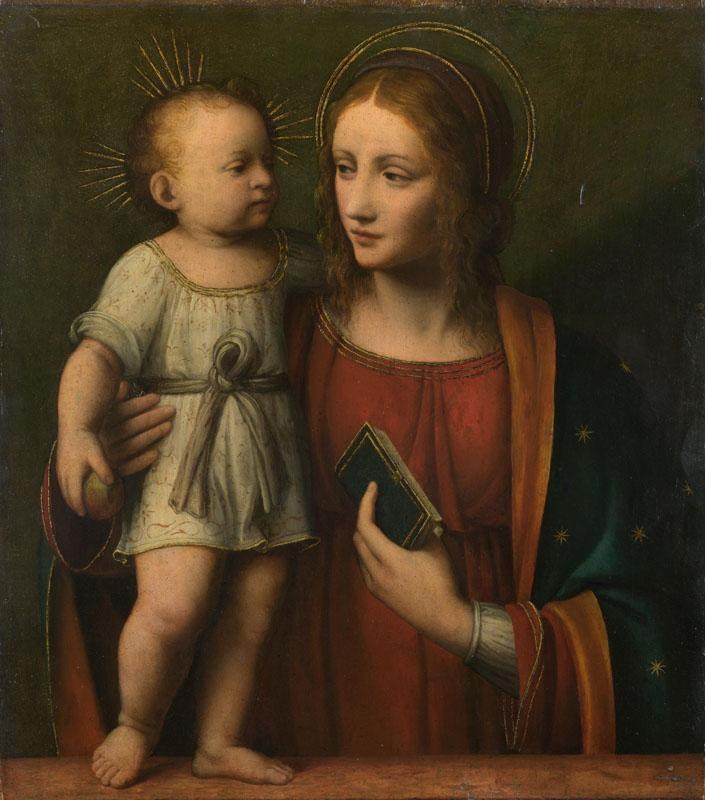 Workshop of Bernardino Luini - The Virgin and Child