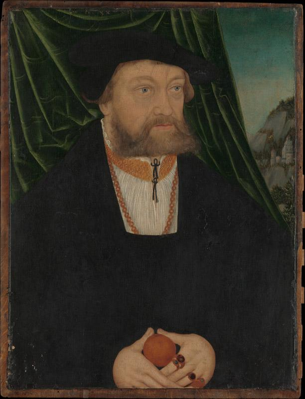 Workshop of Lucas Cranach the Elder--Portrait of a Man