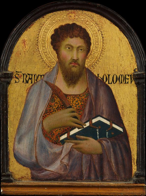 Workshop of Simone Martini--Saint Bartholomew