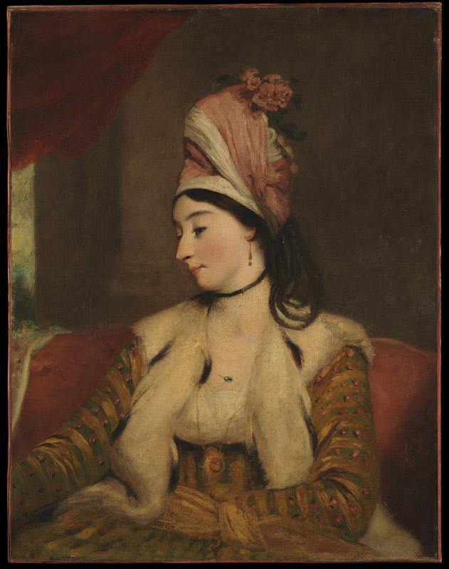 Workshop of Sir Joshua Reynolds--Mrs. George Baldwin (Jane Maltass, 1763-1839)