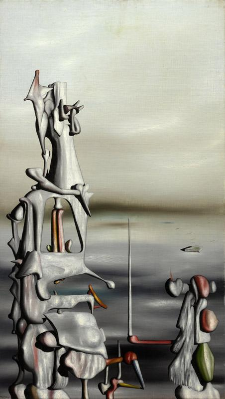 Yves Tanguy - At the Risk of the Sun, 1949